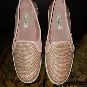 Simply Vera Vera Wang Pink Woven Loafers (9)